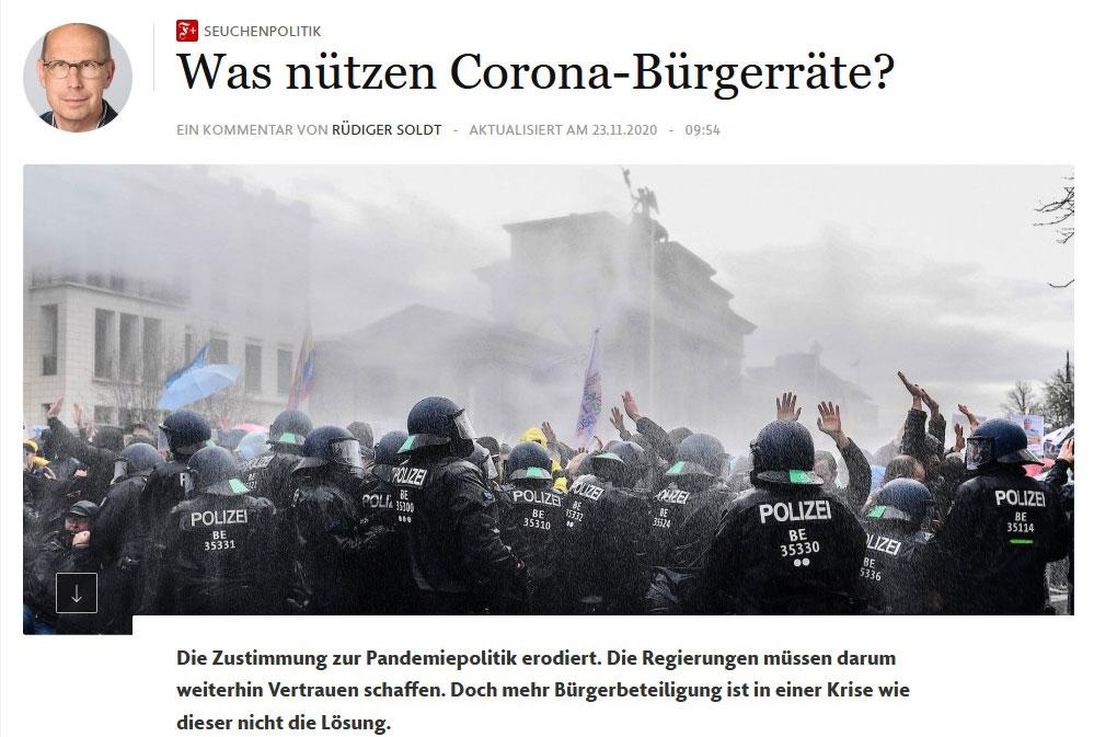 Corona und die Demokratie