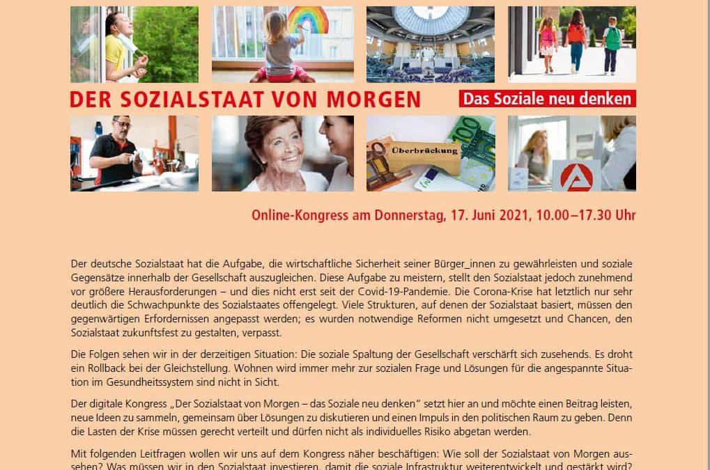 Online-Podium der Friedrich-Ebert-Stiftung zum Sozialstaat