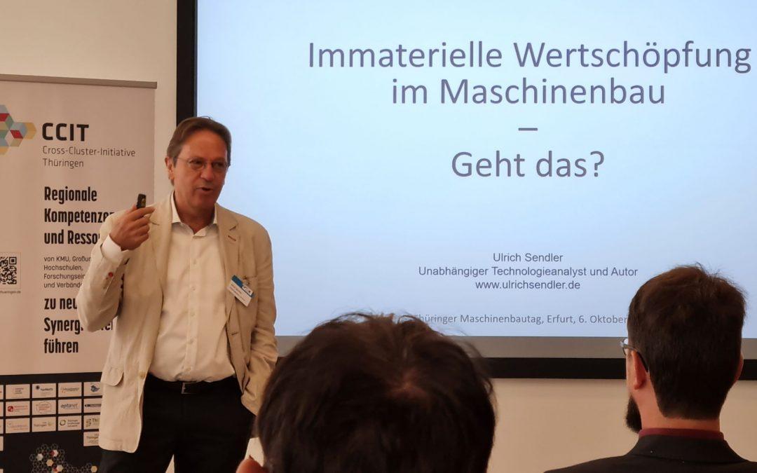 Thüringer Maschinenbautag und Reaktionen auf meine Keynote